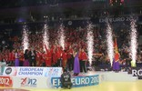 Euro 2012: Medal ceremony
